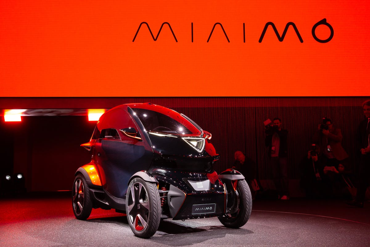 Seat Minimo: Kleiner, autonomer Elektro-Flitzer kommt mit austauschbaren Akkus