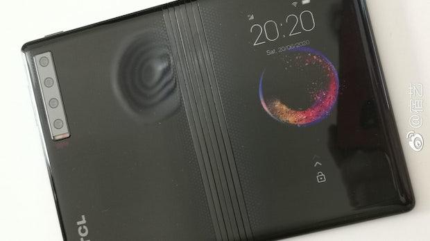 Blackberry-Hersteller zeigt das Konzept seines Foldables