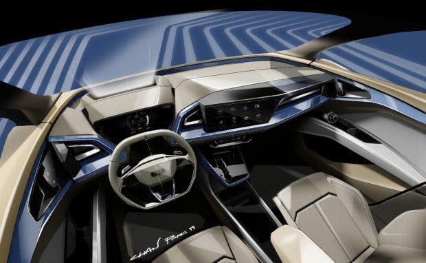 Audi Q4 E-Tron Konzept. (Bild: Audi)