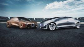 BMW und Daimler schieden Allianz für autonomes Fahren. (Bild: BMW, Daimler)