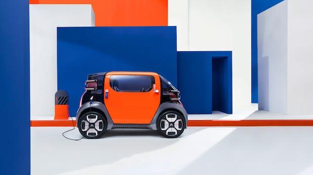 Stadtauto als Service: Citroëns Konzeptfahrzeug Ami One