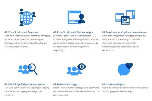 Facebook Blueprint Kursangebot