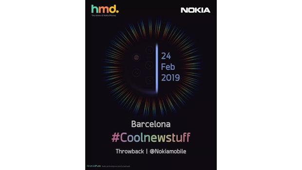Die MWC-Ankündigung für das Nokia 9. (Bild. HMD Global)