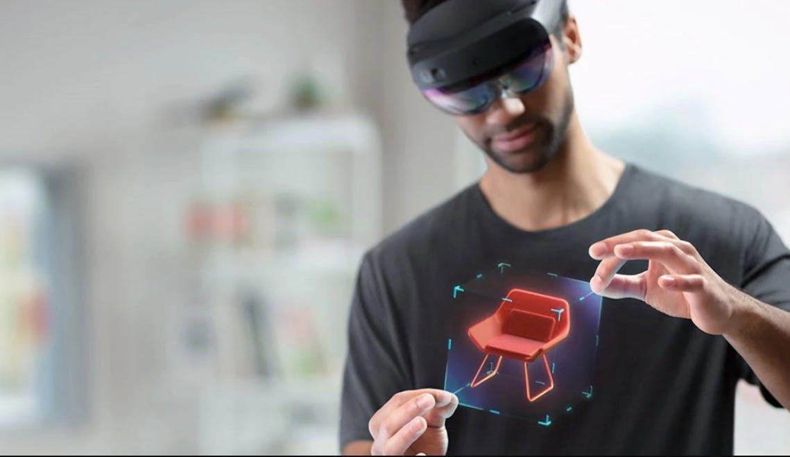 Hololens 2: Neue, leichtere Mixed-Reality-Brille mit größerem Blickfeld