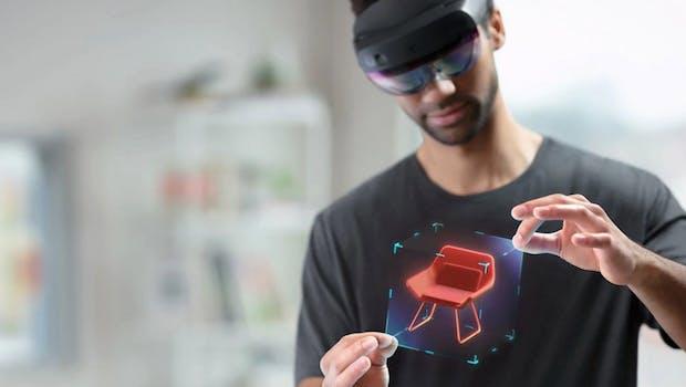 Hololens 2. (Bild: Microsoft)