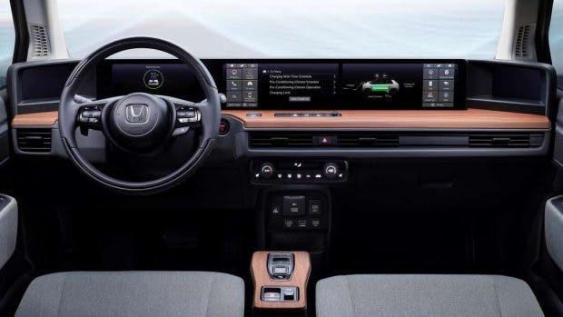 Der Innenraum des Honda E-Prototype. (Bild: Honda)