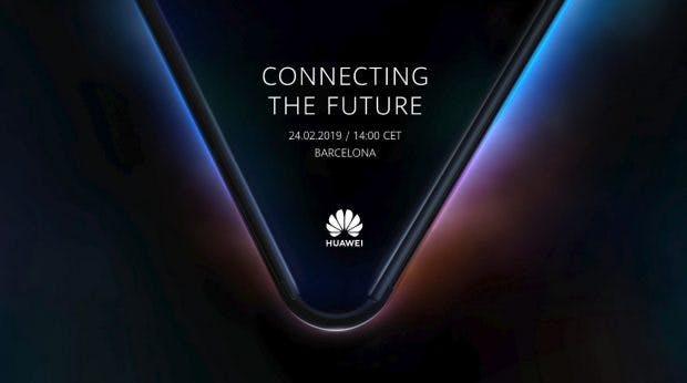 Huawei wird auf dem MWC 2019 sein erstes Foldable zeigen. (Bild: Huawei)