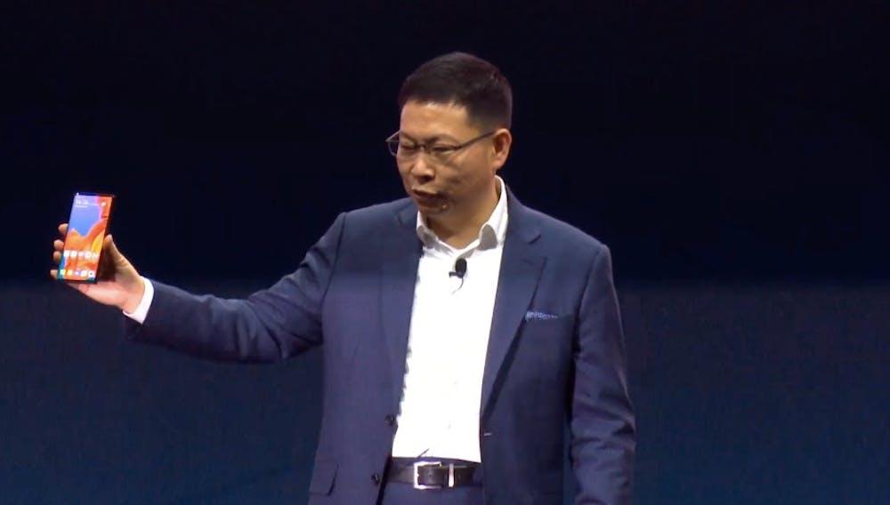 Huawei Mate X. (Screenshot: t3n)