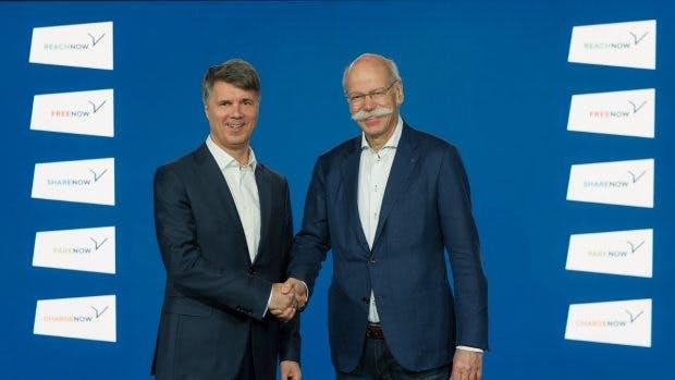 Daimler und BMW gründen fünf Mobilitäts-Joint-Ventures. (Foto: Daimler/BMW)