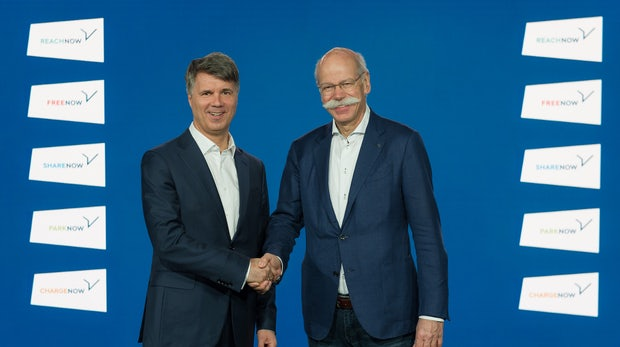 Daimler und BWM sollen über gemeinsame Fahrzeugplattform nachdenken