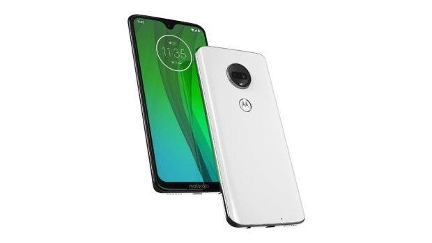 Das Motorola Moto /G7 im weiß. (Bild: Motorola)