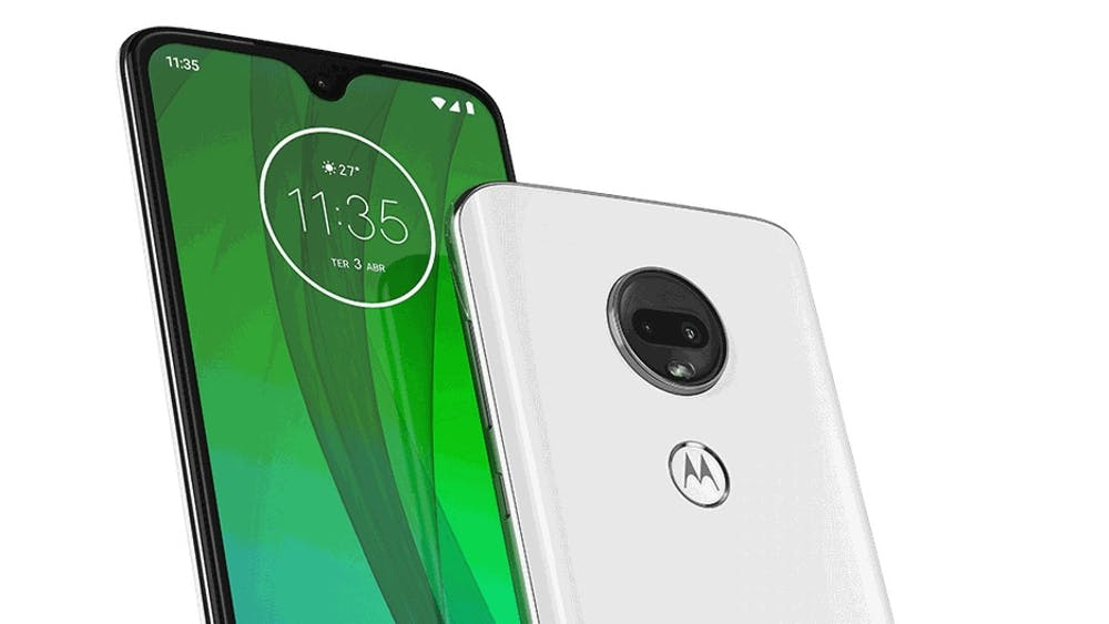 Das Motorola Moto G7. (Bild: Motorola)