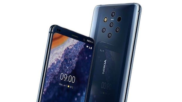 Nokia 9 Pureview ist offiziell: HMD Global kündigt Topmodell mit 5 Hauptkameras an