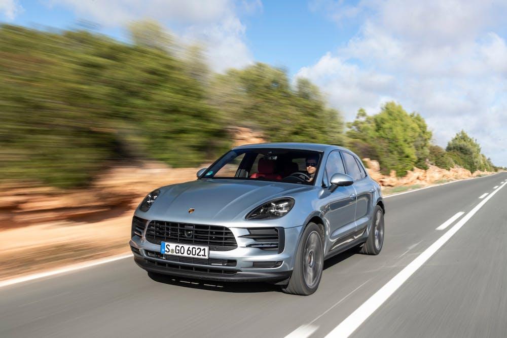 Porsche Macan – bald kommt das SUV als Stromer. (Foto: Porsche AG)