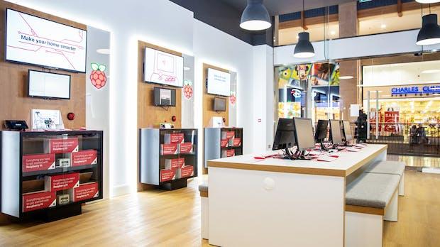 Das ist der erste offizielle Raspberry-Pi-Store