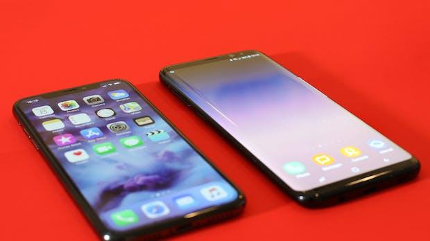 Smartphone-Absatz in Europa – Samsung und Apple verlieren