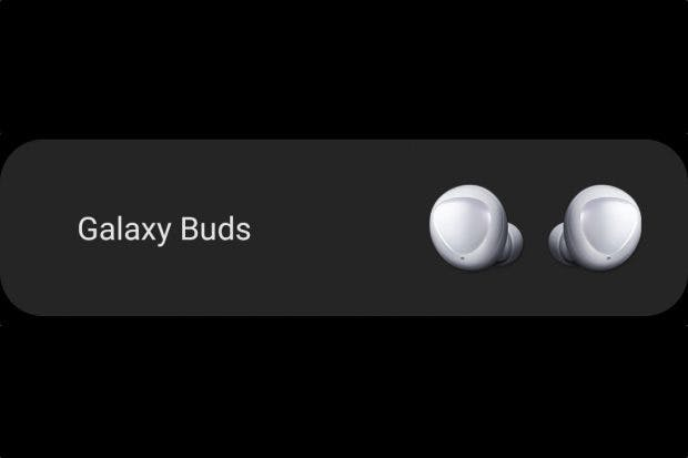 Samsung Galaxy Buds in der Samsung-Wearable-App. (Bild: t3n.de)