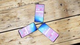Familienfoto: Samsung Galaxy S10, S10 Plus und S10e. (Foto: t3n)