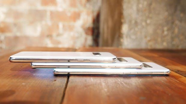 Samsung Galaxy S10, S10 Plus und S10e im Vergleich: Was ist gleich, was sind die Unterschiede?