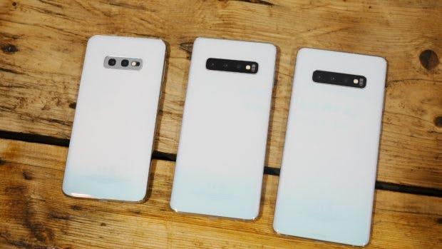 Familienfoto: Samsung Galaxy S10, S10 Plus und S10e. (Foto: t3n.de)
