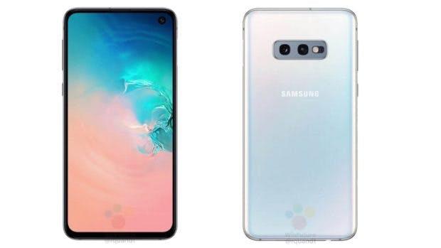 Samsung Galaxy S10e in weiss. (Bild: Winfuture)