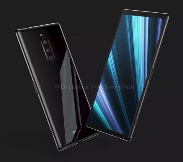 So könnte das Sony Xperia XZ4 aussehen. (Renderbild: Onleaks)