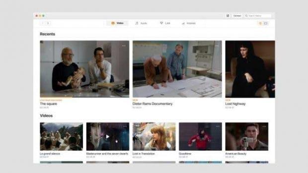 Auch auf dem Mac sieht der VLC Media Player künftig frischer aus. (Bild: Videolan)