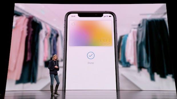 Apple Card: iPhone-Konzern jetzt auch mit Kreditkarte