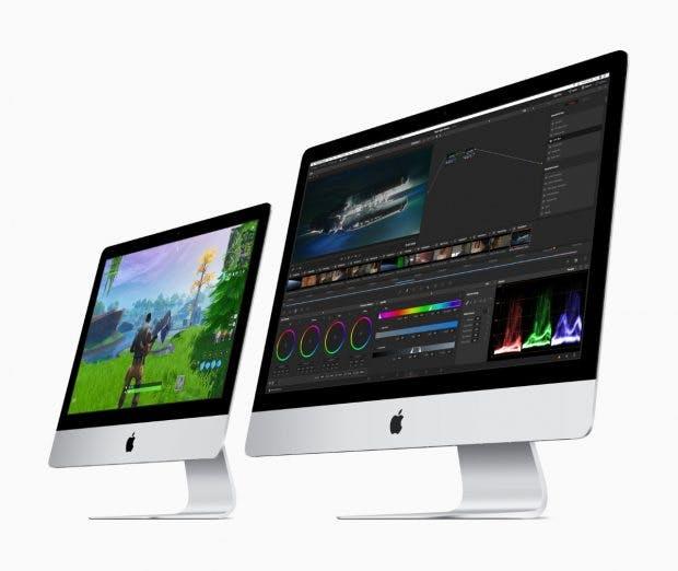 Apples 2019er iMac-Familie. (Bild: Apple)