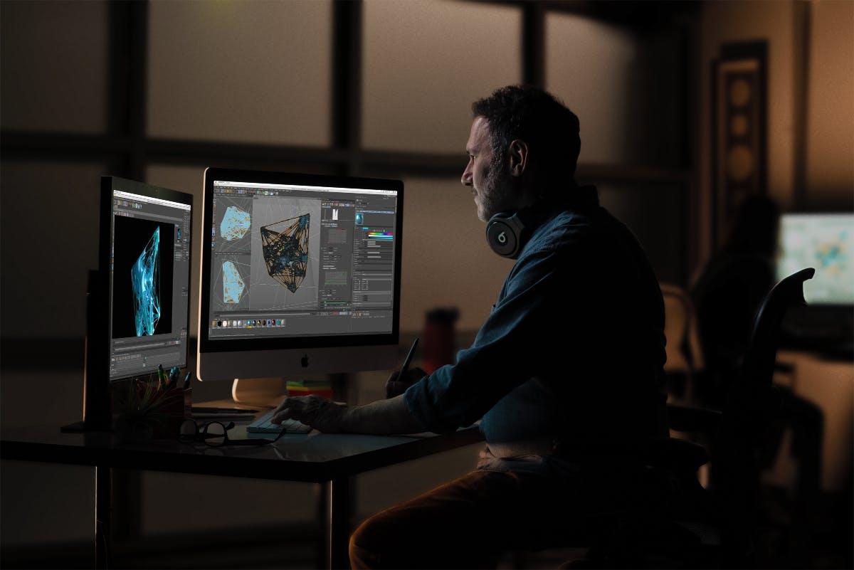 Apples 2019er iMac. (Bild: Apple)