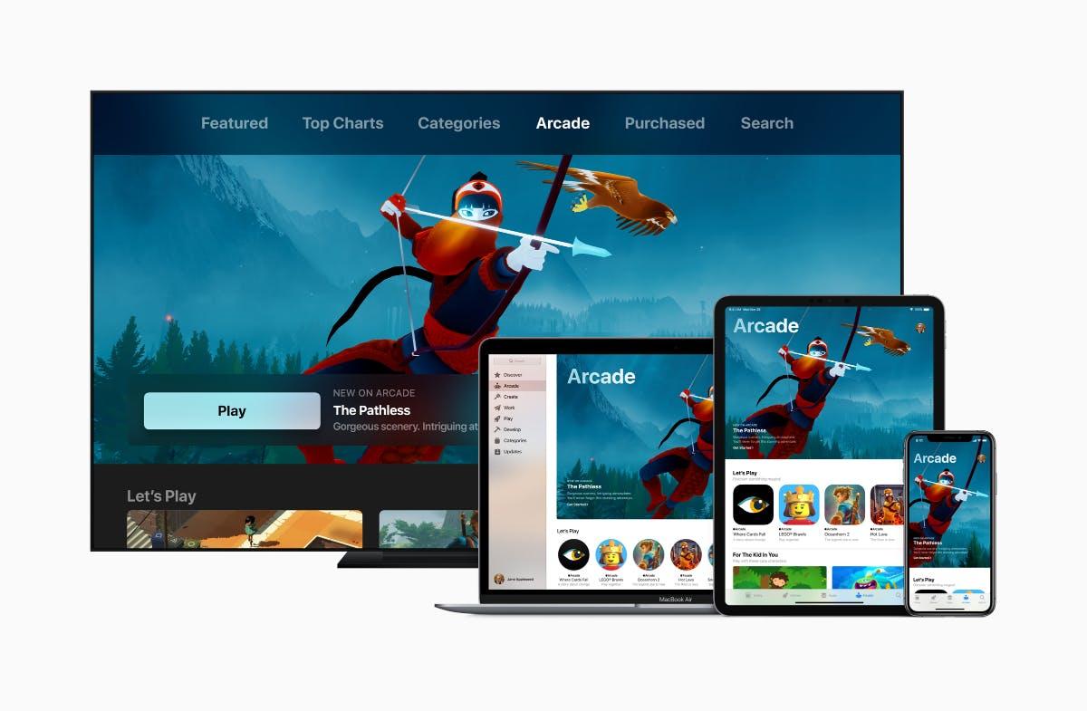 Apple Arcade: Spiele-Abo für iOS, macOS und tvOS kommt im Herbst