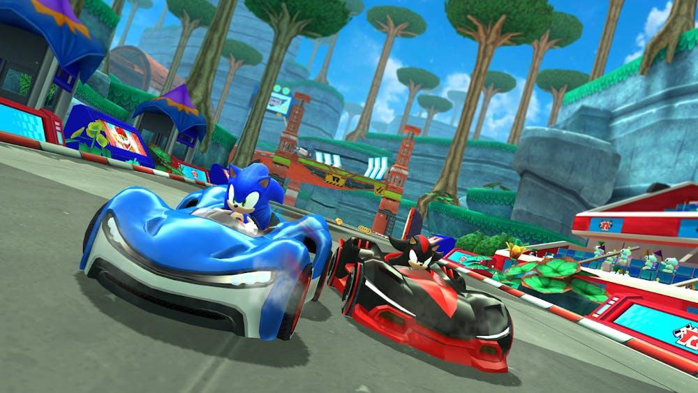"""""""Sonic Racing"""" von SEGA auf Apple Arcade. (Bild: Apple)"""