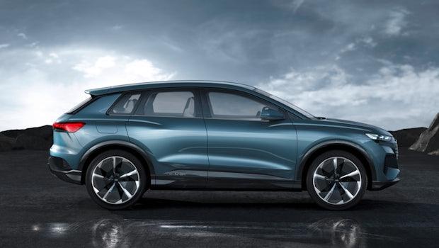 Audi Q4 E-Tron Concept. (Bild: Audi AG)