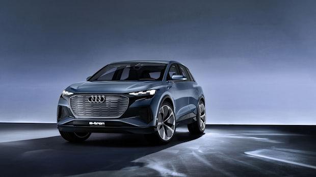 Kompaktes SUV - das ist das Audi Q4 E-Tron Concept