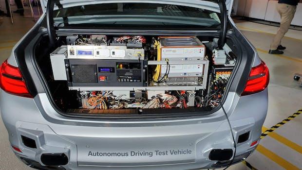 Autonomes Fahren bei BMW. (Bild: t3n)