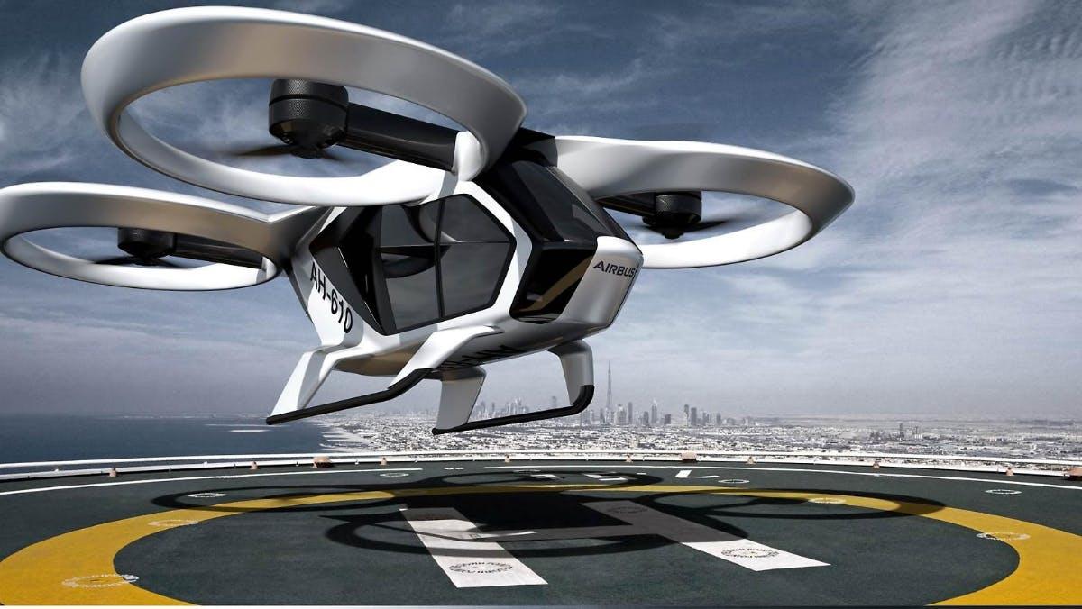 Start 2020: Flugtaxi City-Airbus absolviert erste Probeflüge