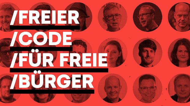 """Sascha Lobo und breites Bündnis fordern: """"Freier Code für freie Bürger"""""""