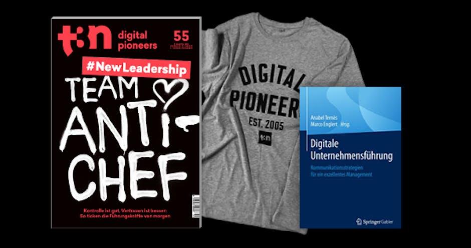 """Dein t3n Abo inklusive """"Digitale Unternehmensführung"""" von t3n.de-Autor Marco Englert"""