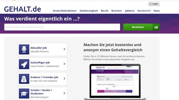 Stepstone – Online-Jobplattform übernimmt Gehalt.de