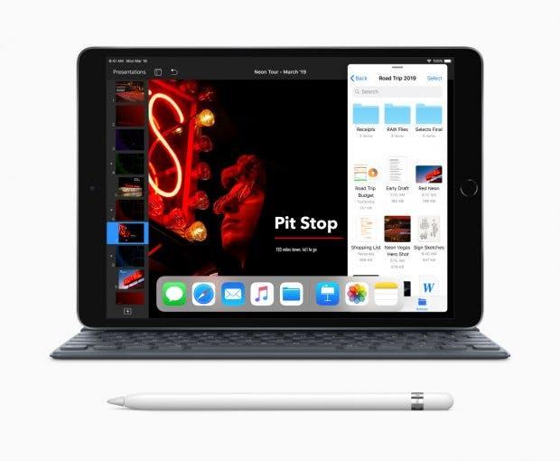 Das neue iPad Air mit Smart Cover und Apple Pencil. (Bild: Apple)