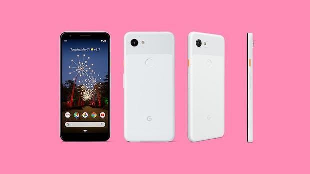 Google: Die neuen Mittelklasse-Smartphones Pixel 3a und 3a XL sollen bereits ab 399 Euro erhältlich sein