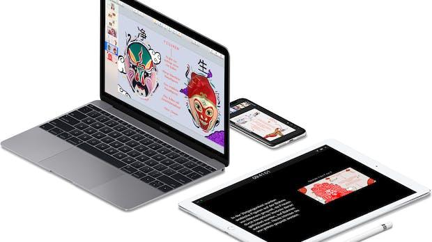 Für iOS und macOS: Keynote, Pages und Numbers erhalten Update