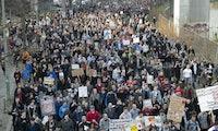 Protest gegen die Urheberrechtsreform: Zehntausende waren auf der Straße