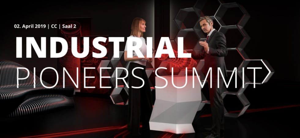 INDUSTRIAL PIONEERS SUMMIT HANNOVER MESSE