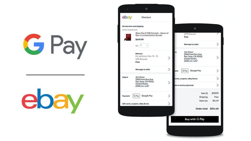 Ebay will jetzt Google Pay als Bezahloption einführen