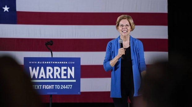 US-Senatorin Warren will Google, Facebook und Amazon zerschlagen