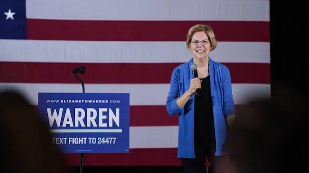 US-Senatorin Warren will Google, Facebook und Amazon zerschlagen
