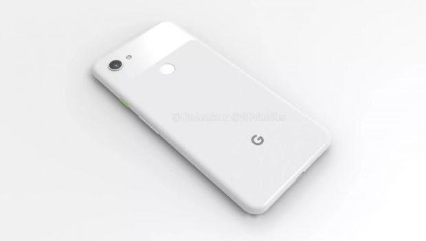 So soll das Google Pixel 3a XL aussehen. (Renderbild: 91 Mobiles)So soll das Google Pixel 3a XL aussehen. (Renderbild: 91 Mobiles)