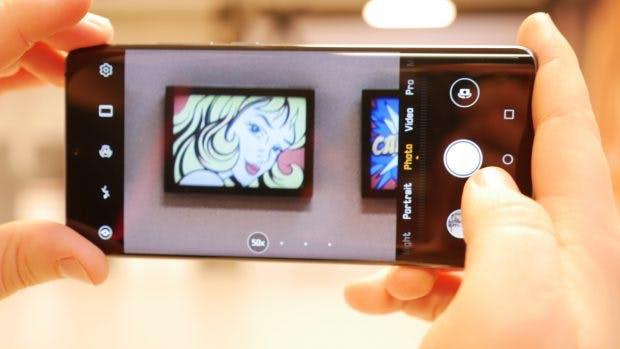 Das Huawei P30 Pro unterstützt fünfzigfachen Digitalzoom. (Foto: t3n)