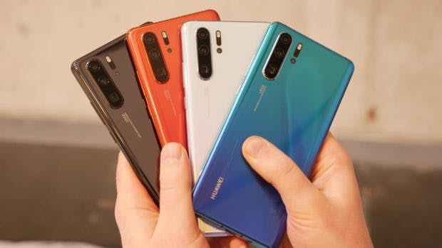 Huawei P30 Pro in many colors. (Photo: t3n)